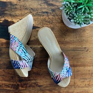 Xappeal Lydia Wedges • Like New • Size 9